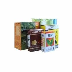 Multicolor  Pesticide Packaging Box ''''Make in INDIA'''' for Food