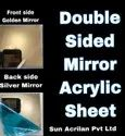 Double Sided Acrylic Mirror Sheet