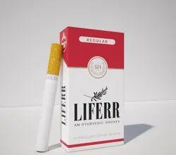 LIFERR - An Ayurvedic Smokes - 100% Tobacco & Nicotine Free Smokes - Regular