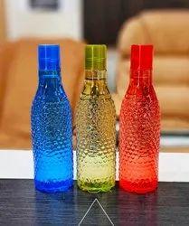 Screw Cap Transparent Plastic Bottles, For Water Storage, Capacity: 1 L