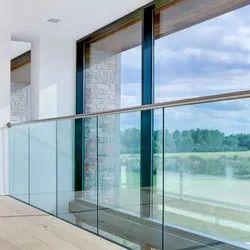 Balcony Panel Aluminium Glass Railing