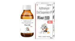 Azithromycin 100 mg in 15 ml (Sweet Orange Flavour)