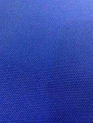 Blue Plain Seat Cover Rexine