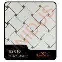 US010 PVC Plastic Ceiling Tiles Shiny Basket