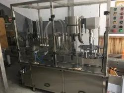 Edible oil Filling & Capping Machine