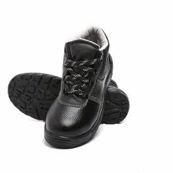 Agarson Innova Black And Grey PVC Safety / Industrial Shoes