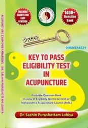 Book Key To Pass Eligibility Test In Acupuncture