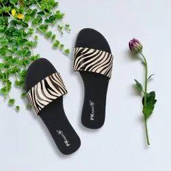 PK Kart Flats & Sandals Ladies Stylish Fashion Sandal, Size: 36 - 40