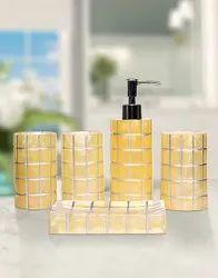 Vectus Plastic Printed Bathroom Set Rs 840 Set Krishan Enterprises Id 22222330012