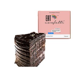 Triangle Dark Chocolate Truffle Pastry, Packaging Type: Box
