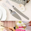 Stainless Steel Cake Knife And Server Set With Slicer Cutter