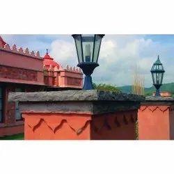 Agra Red Pillar Stone