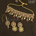 Reverse AD Bridal Necklace Set