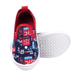 Music Blue Kids Casual Shoes, 1-3.5 Years