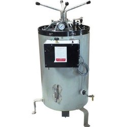 Vertical Autoclave Double Wall Stainless Steel