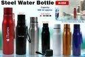 ITunes Red, Black Steel Water Bottle