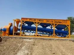 Batching Plant With Reversible Drum Mixer