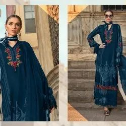 Pakistani Suits Salwar Maria B Lawn Embroidered Suit