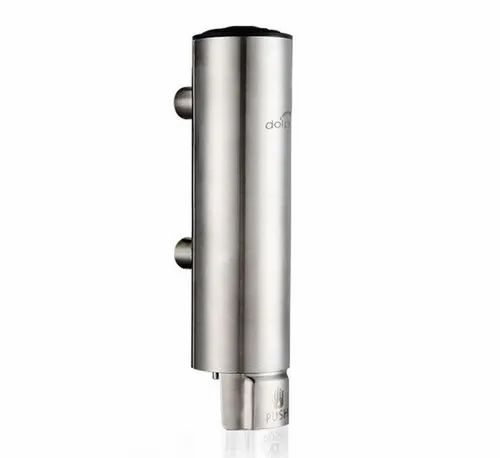 DOLPHY MANUAL STAINLESS STEEL  SOAP DISPENSER