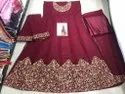 Georgette with Cording Work Wedding Dresses