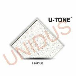 Pinhole 15mm Tegular Acoustic Mineral Fiber Ceiling Tiles