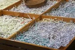 Shredded Paper Waste