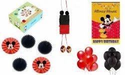 Krishvi Dreamz Mickey MouseTheme Birthday Party Decoration Items for Kids 37 Pieces