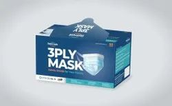 Disposable 3 Ply Mask Sterimask