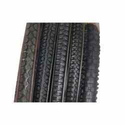 Rubber Bicycle Tyre, Size: 26X2mm