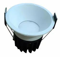 Lightron Aluminium 10 W LED Junction Light, Shape: Round, Voltage: 240 V Ac