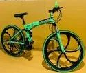 Green BMW Foldable Cycle