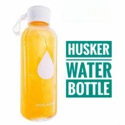 Plastic 500 mL Husker Drink More Water Bottle