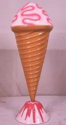 Colorful Ice-Cone Statue For Display