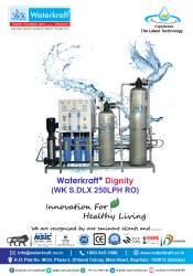 Waterkraft S-DLX 250LPH RO