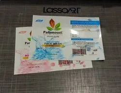 Plastic Multicolour PVC Labels, Packaging Type: Packet, Size: Custom