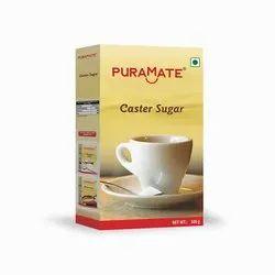 Puramate White Caster Sugar, Packaging Size: 100 Gram