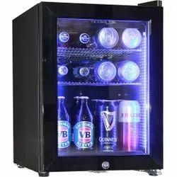 Number Of Doors: 1 Single Door Hotel Mini Refrigerator, Black And White, -5-20