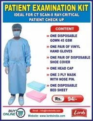 Patient Examination Kit Ideal For Ct Scan-x Ray-Critical  Patient Check Up