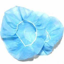 Blue Non Woven Disposable Surgeon Cap, Quantity Per Pack: 50 Pieces, Size: Free Size