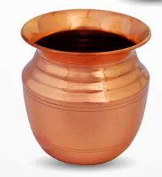 Copper Big Puja Kalash