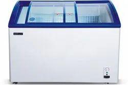 Western Medium Deep Freezer Glass Top