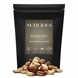 Nuticious All Natural Jumbo Brazilnut (Gourmet Vegan Food Premium Quality)