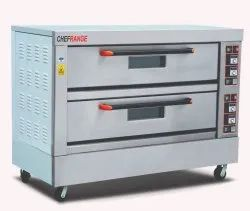 Double Deck 6 Tray Gas Bakery Oven