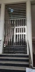 Stainless Steel Ss Main Gate, For Residential