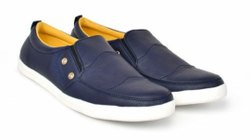 Blue Lodestone Casual Leather Shoes, Size: 6 - 11