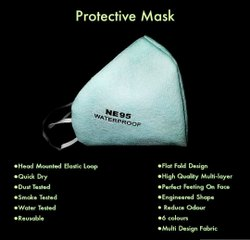 Non Woven Reusable NE95 Protective Face Mask, Number of Layers: 4