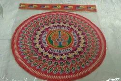 20 Inch Holographic Rangoli Sticker