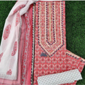Vastra-gram Cotton Parti Wear Suit, Handwash