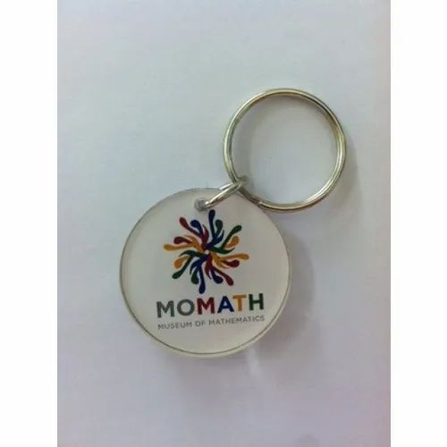 Printed Keychains, Size: 50 Mm