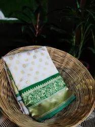 VIRANI Festive Wear Festival Traditional Special Kanchipuram Silk Sarees, With blouse piece, 5.5 m (separate blouse piece)